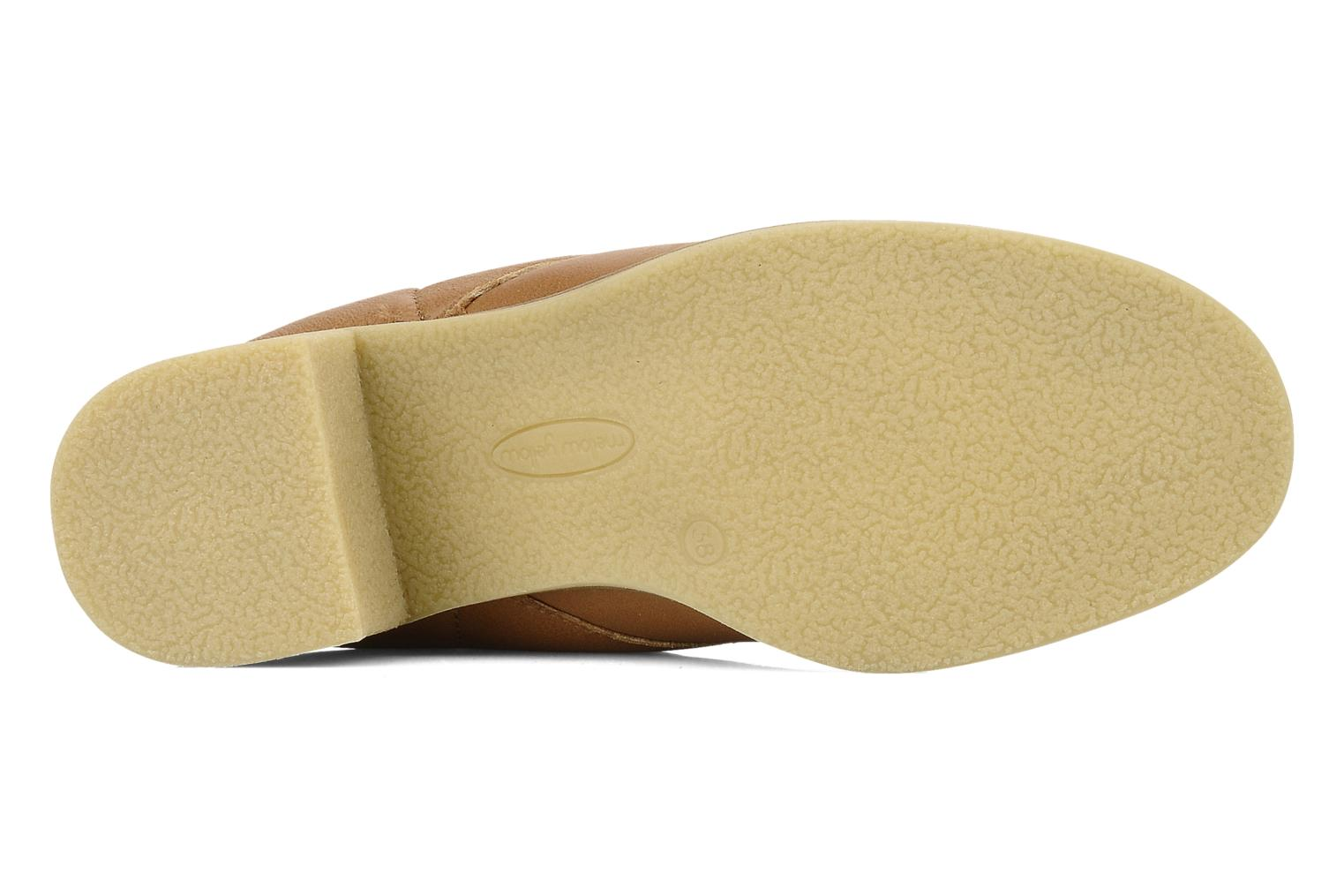 Lace-up shoes Mellow Yellow Kolchic Brown view from above