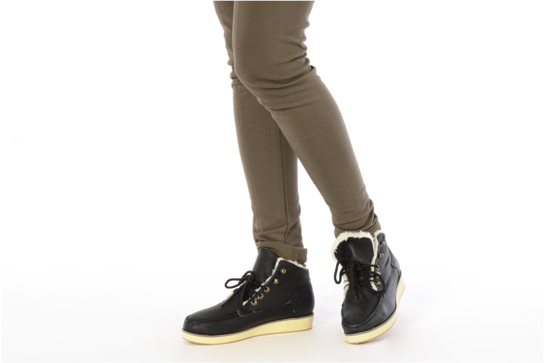 Stiefeletten & Boots Friis & company Agga schwarz ansicht von unten / tasche getragen