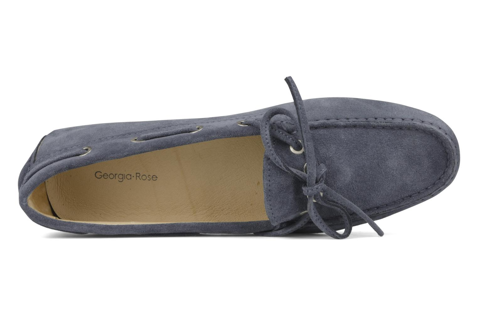 Loafers Georgia Rose Vinelle Blue view from the left