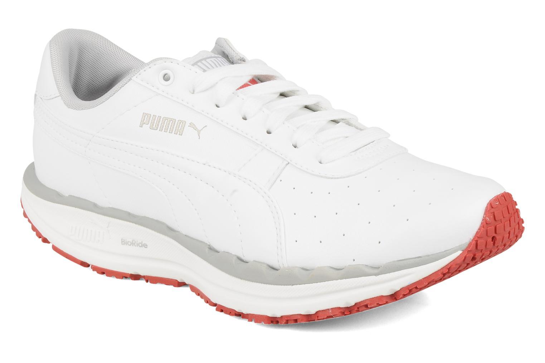 Chaussures de sport Puma Bodytrain leather Blanc vue détail/paire