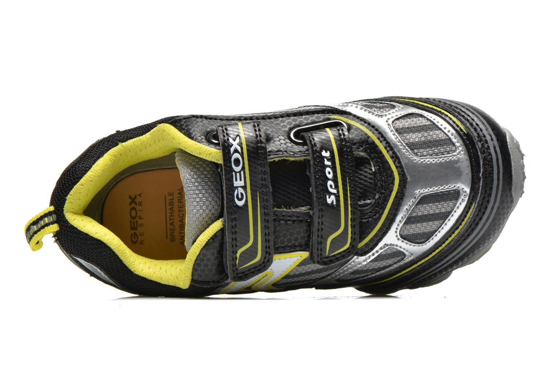 Sneaker Geox J tornado a mehrfarbig ansicht von links