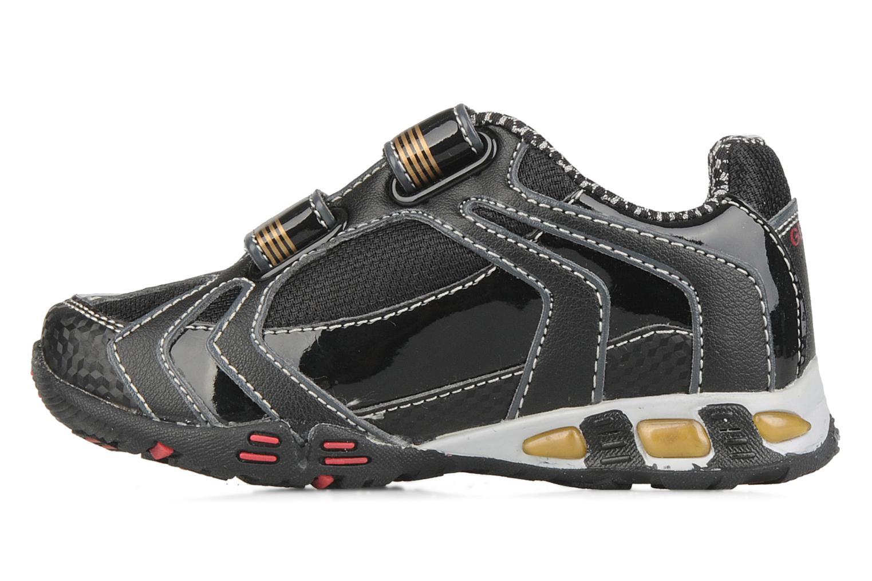Sneakers Geox B nleclipb a Zwart voorkant