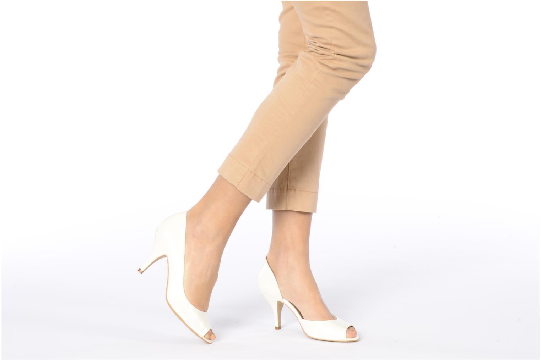 Zapatos de tacón Georgia Rose Alige Blanco vista de abajo