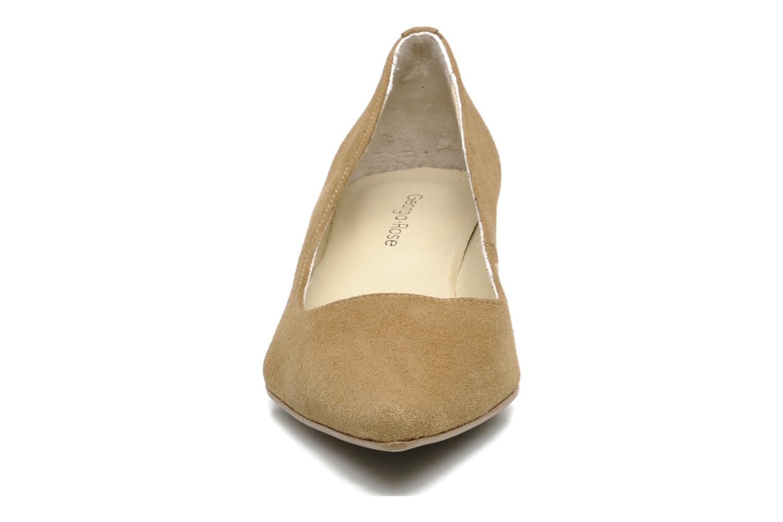 Escarpins Georgia Rose Amisi Beige vue portées chaussures