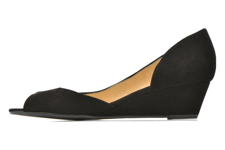 Zapatos de tacón Georgia Rose Phoeti Negro vista de frente