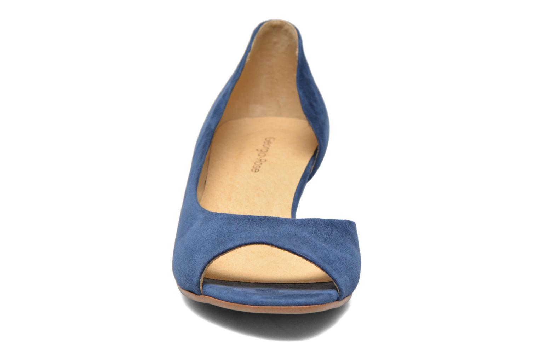 Escarpins Georgia Rose Phoeti Bleu vue portées chaussures