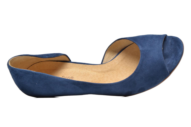 Escarpins Georgia Rose Phoeti Bleu vue gauche