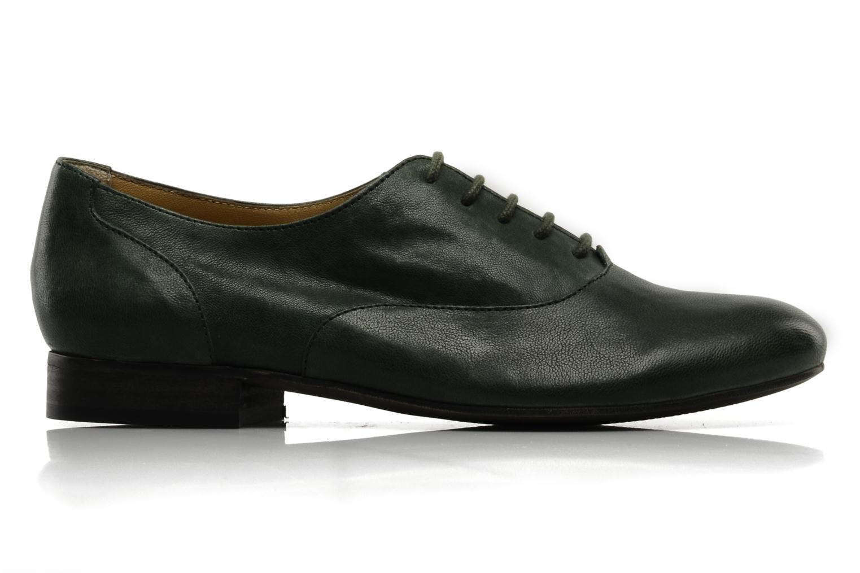 Chaussures à lacets Georgia Rose Messia Vert vue derrière
