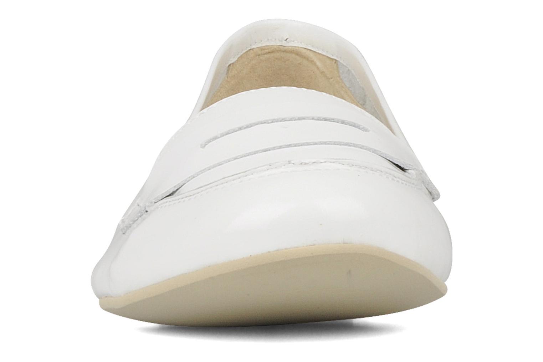 Loafers Georgia Rose Afuro White model view