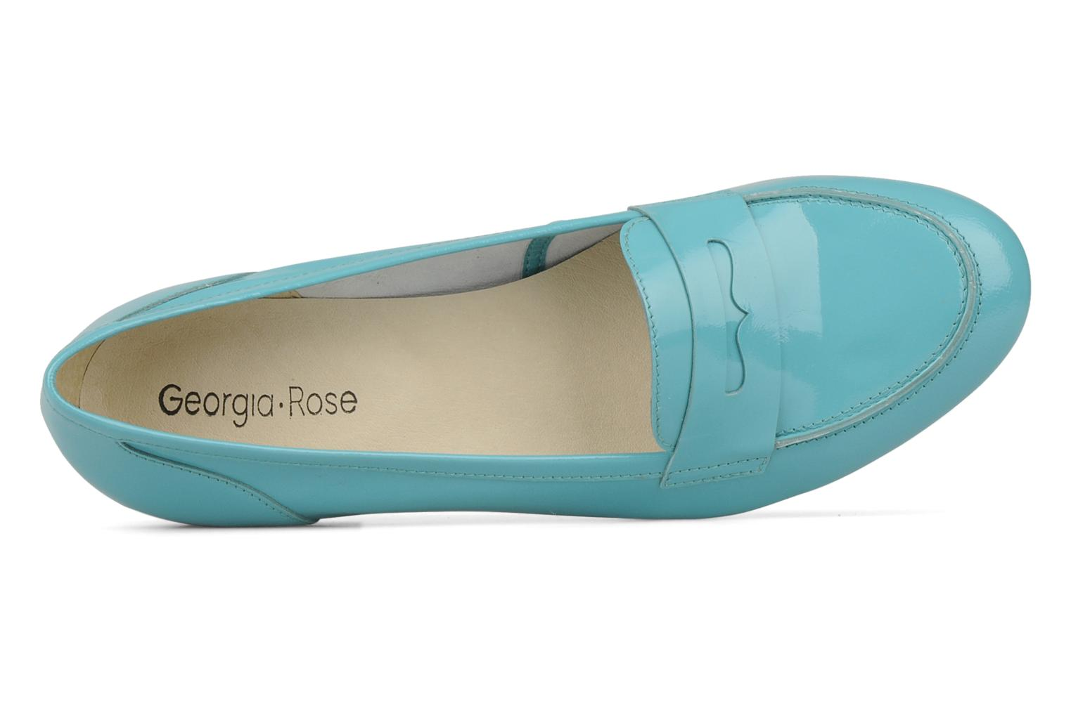 Loafers Georgia Rose Afuro Blue view from the left