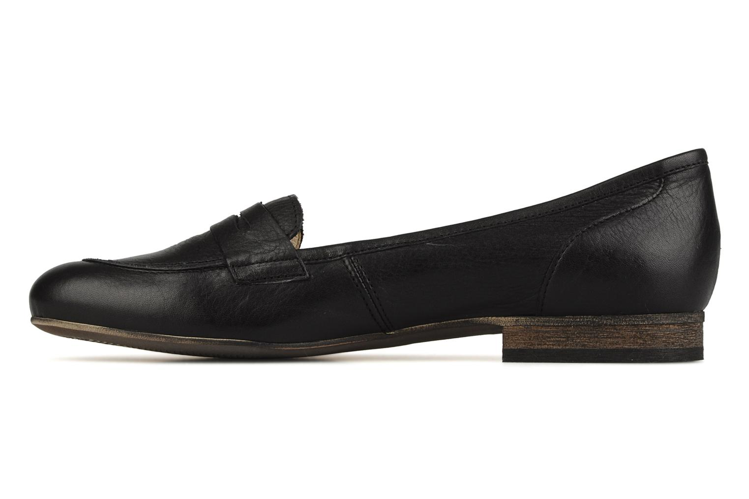 Loafers Georgia Rose Afuro Black front view
