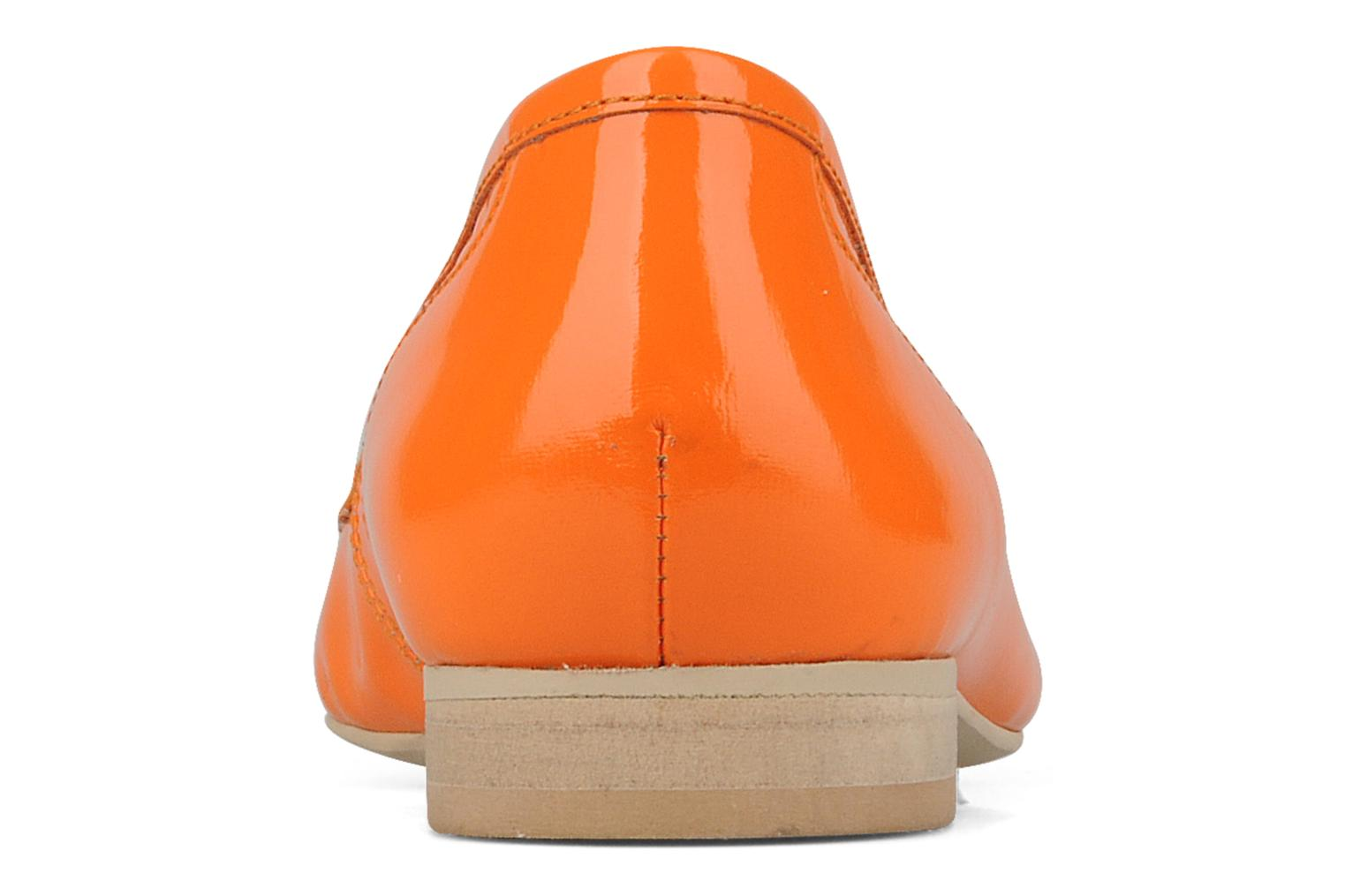 Loafers Georgia Rose Afuro Orange view from the right