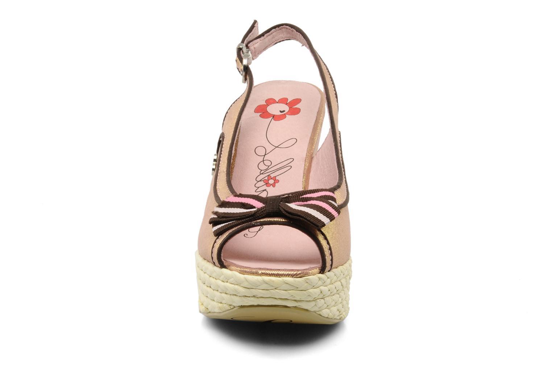 Sandali e scarpe aperte Lollipops Kisild wedge Rosa modello indossato