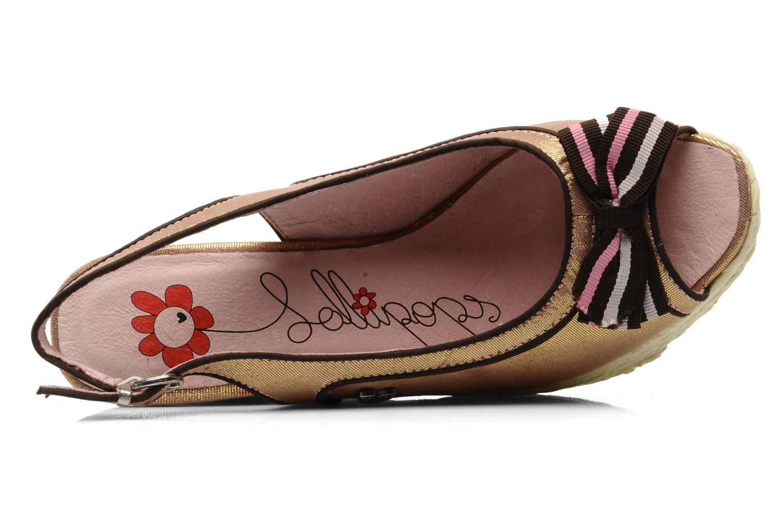 Sandali e scarpe aperte Lollipops Kisild wedge Rosa immagine sinistra