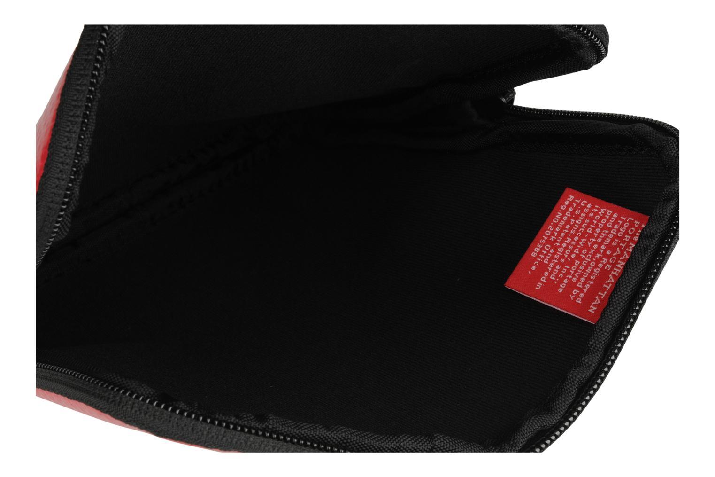 Kleine lederwaren Manhattan Portage Vinyl ipad sleeve Rood achterkant