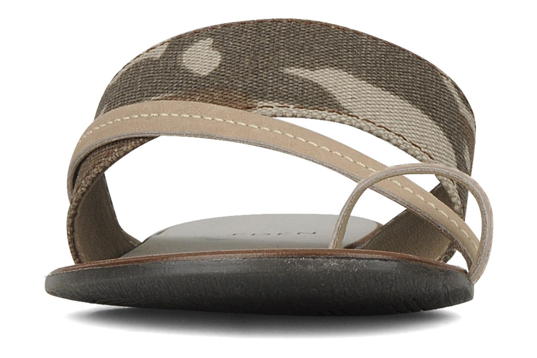 Sandales et nu-pieds Eden Tanza Vert vue portées chaussures