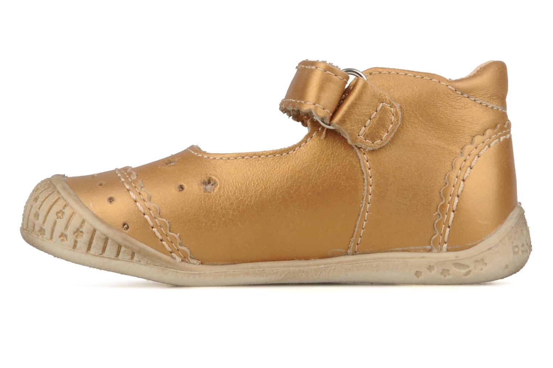Stiefeletten & Boots Babybotte Stars gold/bronze ansicht von vorne