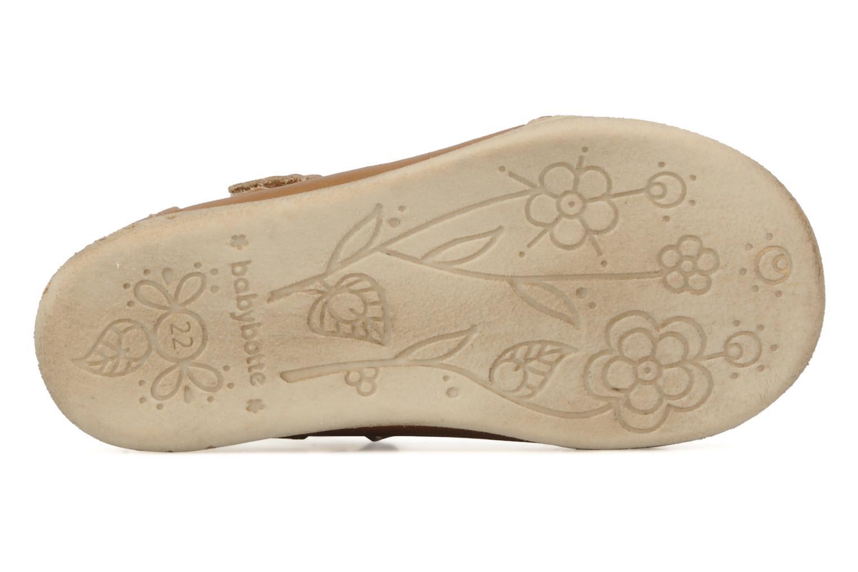 Stiefeletten & Boots Babybotte Stars gold/bronze ansicht von oben