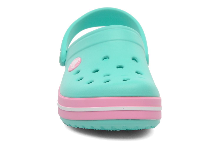 Sandalen Crocs Crocband kids grün schuhe getragen