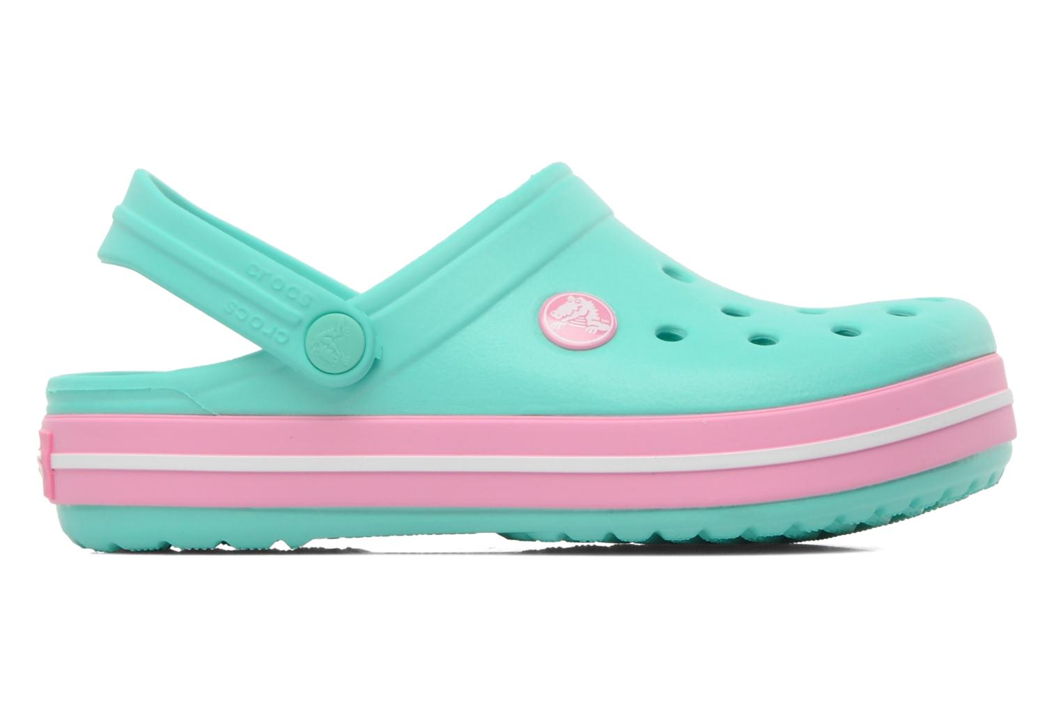Crocband kids island green pink lemonade