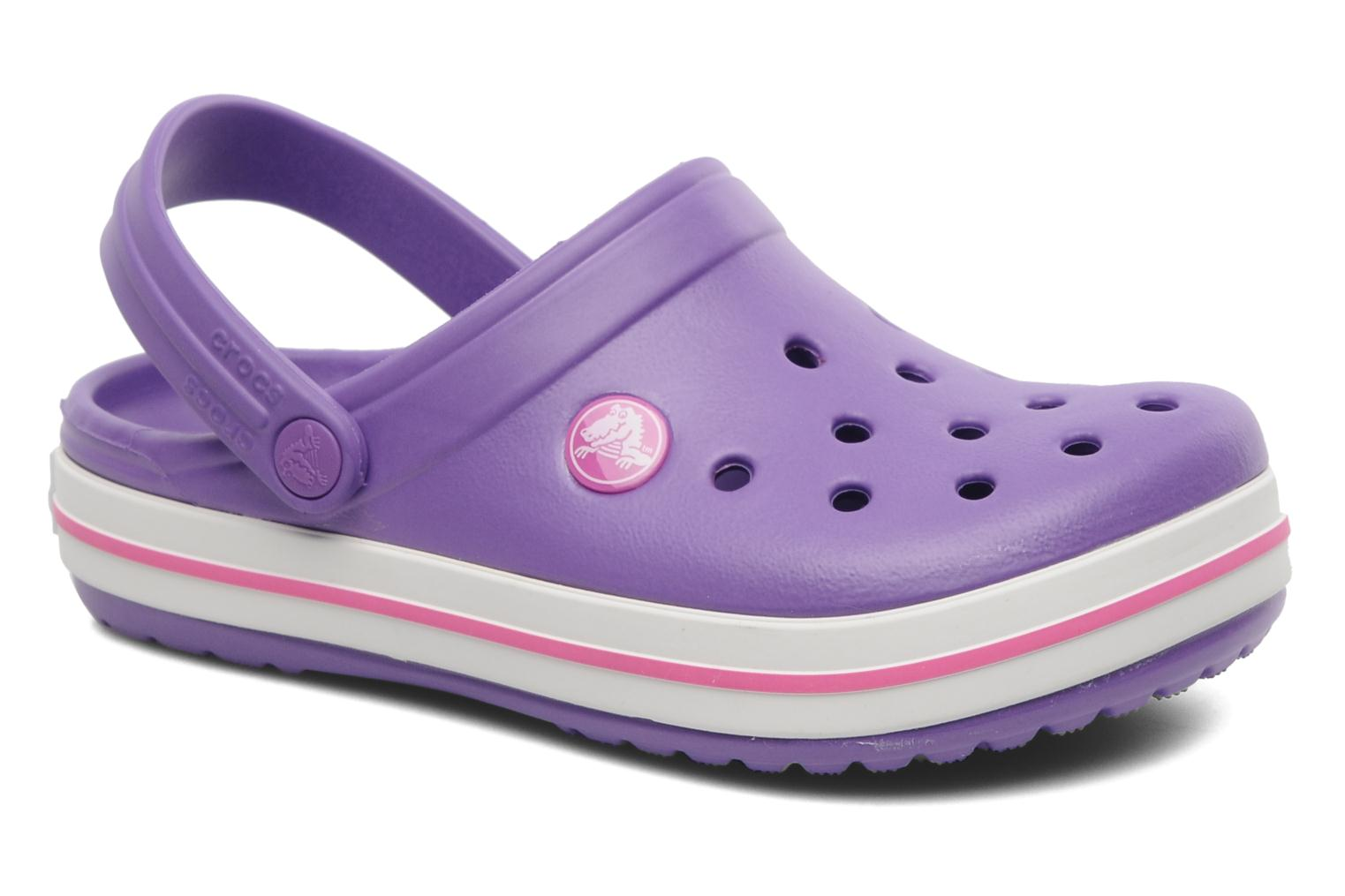 Crocband kids neon purple/neon magenta