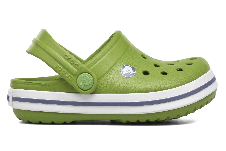 Sandalias Crocs Crocband kids Verde vistra trasera