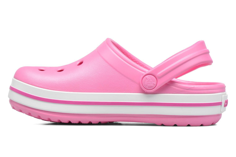 Sandaler Crocs Crocband kids Rosa bild från framsidan