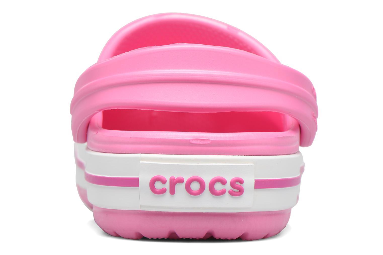 Sandaler Crocs Crocband kids Rosa Bild från höger sidan