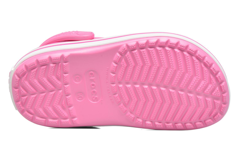 Sandaler Crocs Crocband kids Rosa bild från ovan