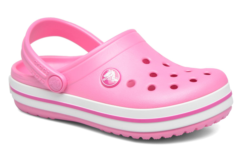 Sandaler Crocs Crocband kids Rosa detaljerad bild på paret