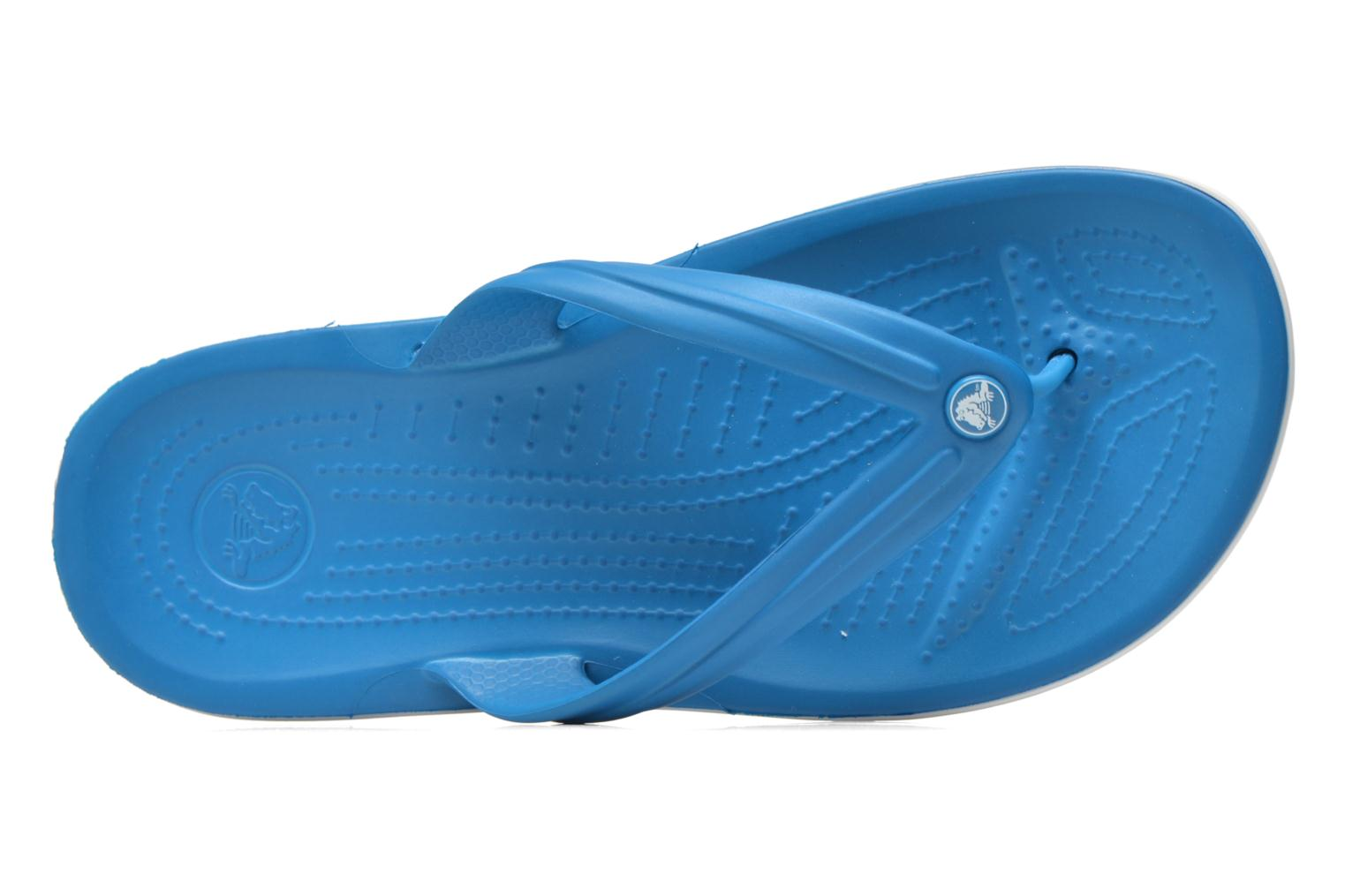 Slippers Crocs Crocband Flip W Blauw links