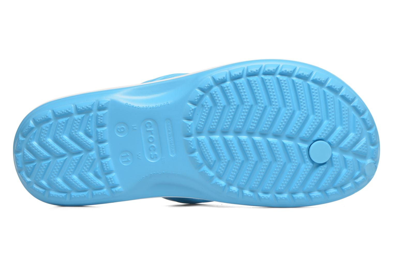 Slippers Crocs Crocband Flip M Blauw boven