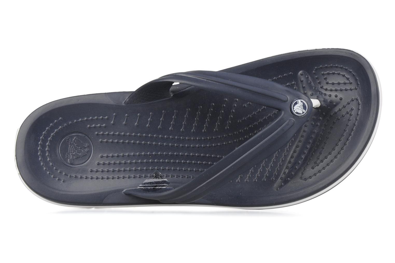 Infradito Crocs Crocband Flip M Azzurro immagine sinistra