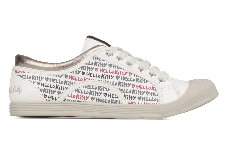 Sneakers Hello Kitty Hk luna low Wit achterkant