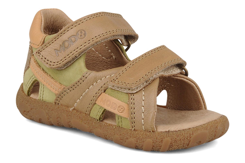 Sandales et nu-pieds Mod8 Batofar Beige vue détail/paire