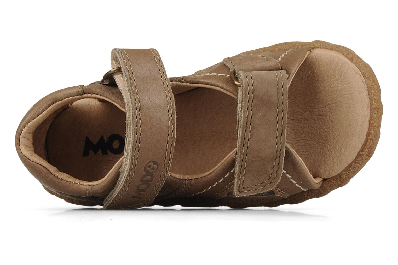 Sandales et nu-pieds Mod8 Batofar Marron vue gauche