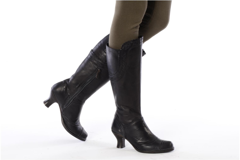 Stivali Neosens Rococo 796 Nero immagine dal basso