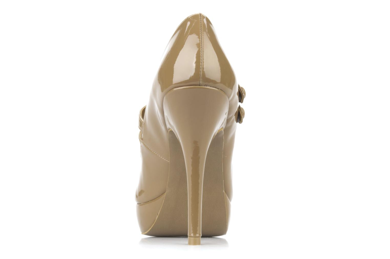 Escarpins Carvela Applaud Beige vue droite