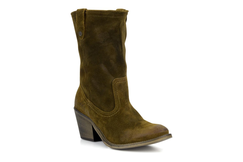 Boots en enkellaarsjes IKKS Gabriella Bruin detail