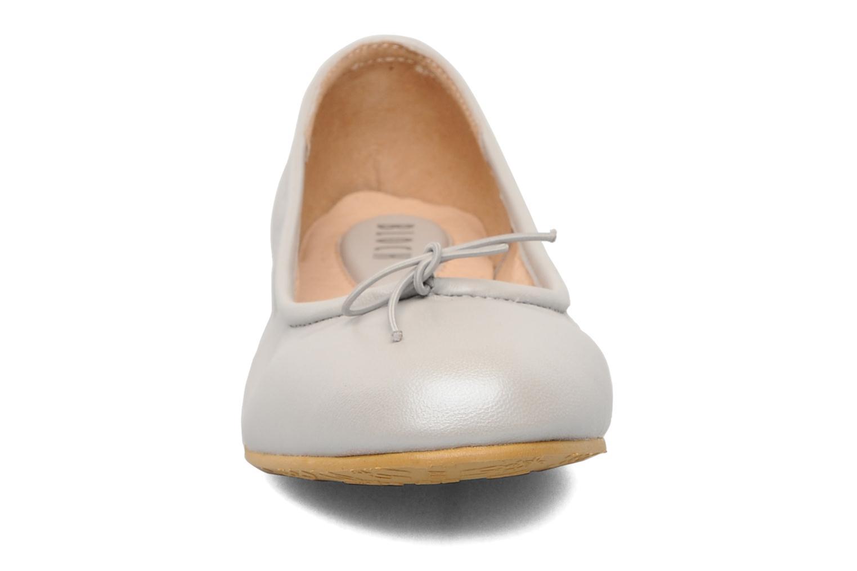 Bailarinas Bloch Arabella Gris vista del modelo