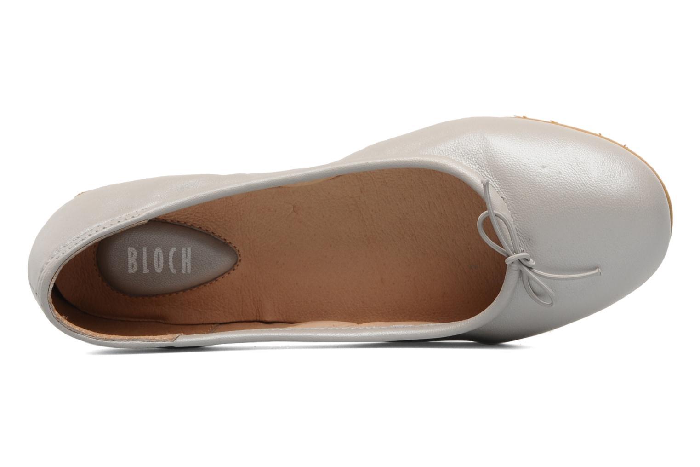 Ballerinaer Bloch Arabella Grå se fra venstre