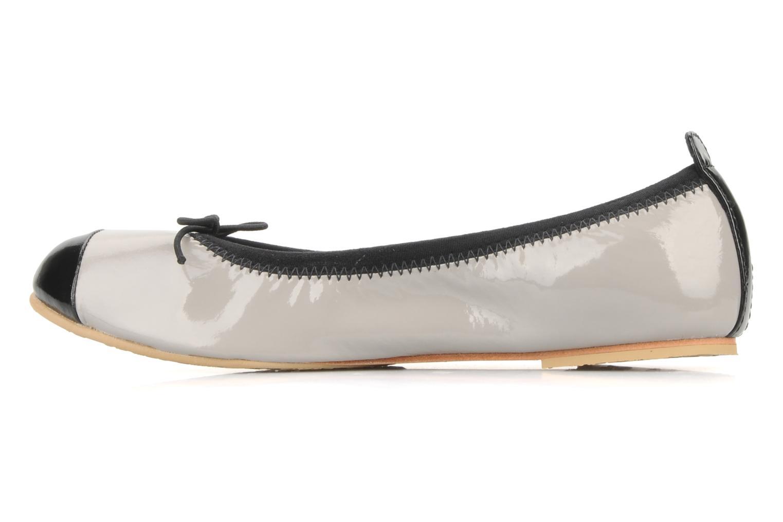 Ballerinas Bloch Girls luxury silber ansicht von vorne