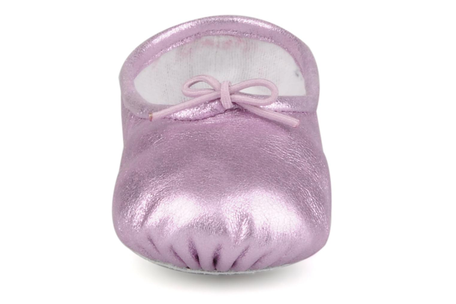 Chaussons Bloch Baby stardust Rose vue portées chaussures