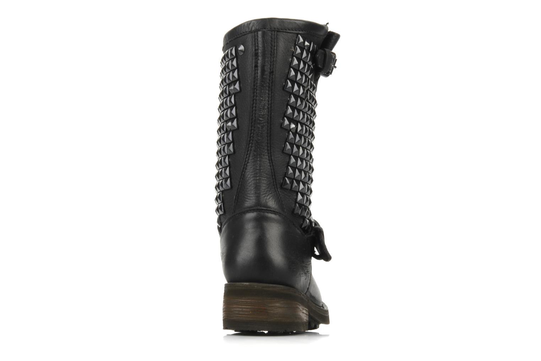 Bottines et boots Ash Trash bis Noir vue droite