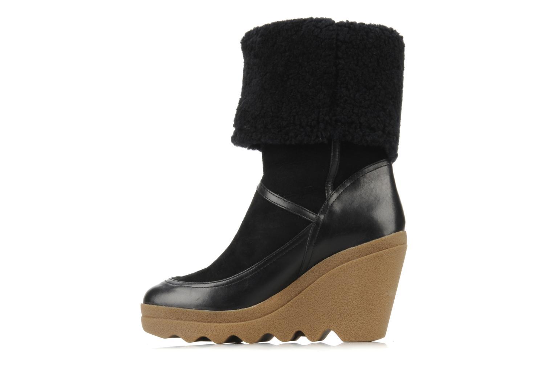 Stiefeletten & Boots Ash Varuska schwarz ansicht von vorne