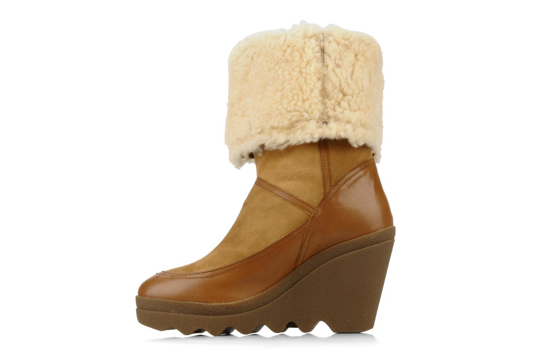 Bottines et boots Ash Varuska Marron vue face