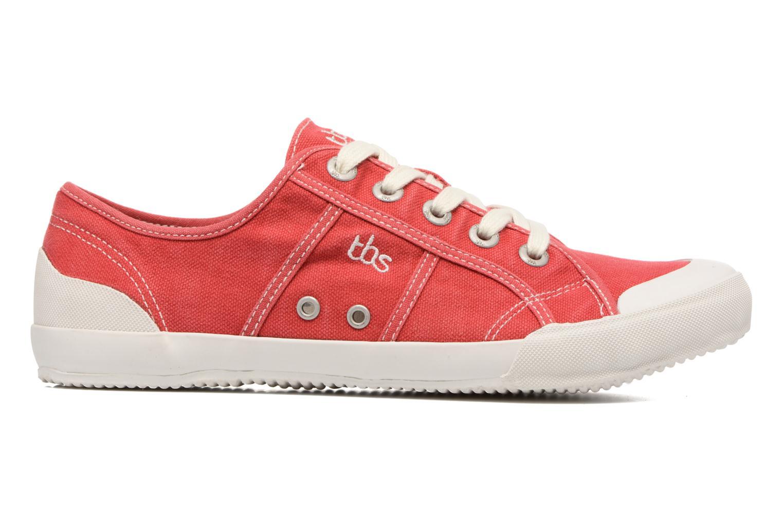 Sneaker TBS Opiace rot ansicht von hinten