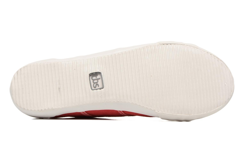 Sneaker TBS Opiace rot ansicht von oben