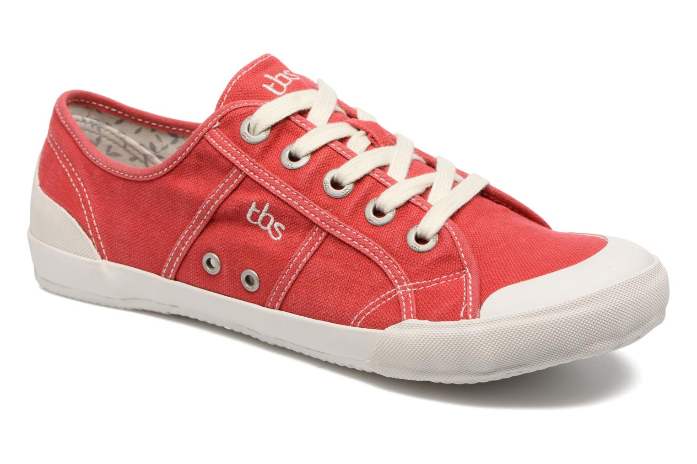 Sneaker TBS Opiace rot detaillierte ansicht/modell
