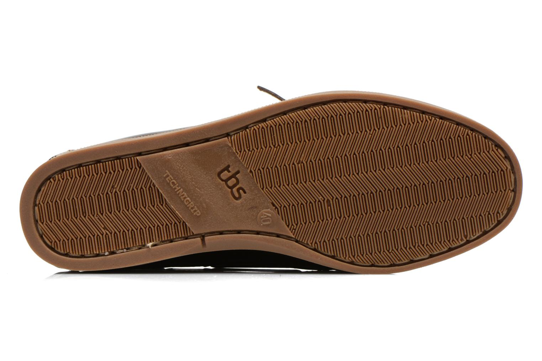 Chaussures à lacets TBS Phenis Marron vue haut